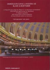 Verso de Blake et Mortimer (Divers) -16- La Bibliothèque virtuelle de Blake & Mortimer