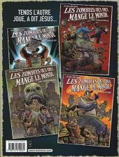 Verso de Les zombies qui ont mangé le monde -4- La guerre des papes