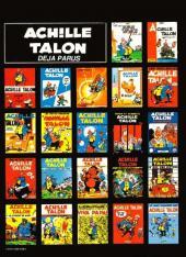Verso de Achille Talon -22- Le sort s'acharne sur Achille Talon