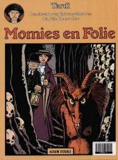 Verso de Adèle Blanc-Sec (Les Aventures Extraordinaires d') (France Loisirs) -2- Le savant fou / Momies en folie