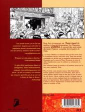Verso de L'Âge de bronze -2- Sacrifice