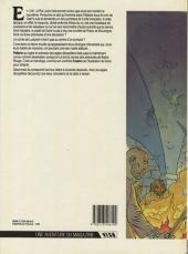 Verso de Les aigles décapitées -1- La nuit des jongleurs