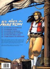 Verso de Les ailes du Phaéton -6- L'aube rouge du Médianos