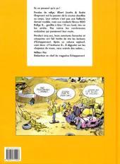 Verso de Albert Linette et André Chapment -2- Je t'enrhume