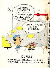 Verso de Alerte au plombier volant! - Tome 1MR1239