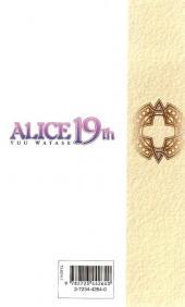 Verso de Alice 19th -4- Tome 4