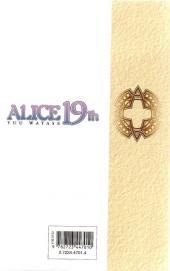 Verso de Alice 19th -6- Tome 6