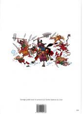 Verso de Arthur le fantôme justicier -9(4)- Arthur contre l'insaisissable Prince noir