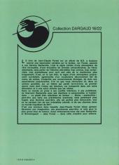 Verso de Barbarella (16/22) -270- Les compagnons du Grand Art