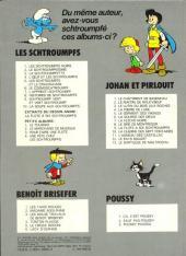 Verso de Benoît Brisefer -7- Le fétiche