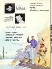 Verso de Bernard Prince -6- La loi de l'ouragan