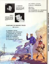 Verso de Bernard Prince -8- La flamme verte du conquistador