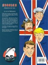 Verso de Biggles -5- Le vol du Wallenstein
