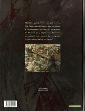 Verso de Blacksad -1- Quelque part entre les ombres