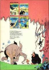 Verso de Boulouloum et Guiliguili (Les jungles perdues) -5- La saga des gorilles