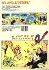 Verso de Boulouloum et Guiliguili (Les jungles perdues) -6- Rapt