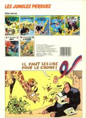 Verso de Boulouloum et Guiliguili (Les jungles perdues) -7- Les aventuriers de la préhistoire