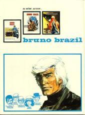 Verso de Bruno Brazil -4- La cité pétrifiée
