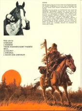 Verso de Buddy Longway -7- L'hiver des chevaux
