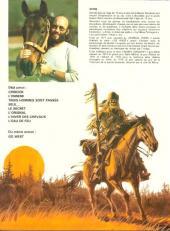 Verso de Buddy Longway -9- Premières chasses