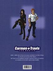 Verso de Carmen+Travis -1- Les Récits (Volume 1)