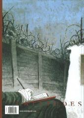 Verso de Le carnet rouge (Kristiansen) - Le Carnet Rouge
