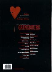Verso de Les chansons de Gainsbourg -2- Volutes 2 : Melody & Marilou