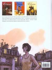 Verso de Clara (Lapière et Chauzy) -3- La disparue