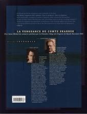 Verso de La vengeance du Comte Skarbek -INT- Édition intégrale