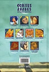 Verso de Les contes en bandes dessinées - Contes arabes