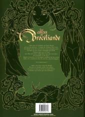 Verso de Les contes de Brocéliande -3- Livre troisième: Les Dames de Brocéliande