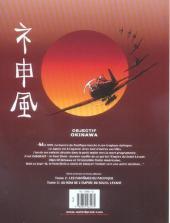 Verso de Le dernier kamikaze -1- Objectif Okinawa