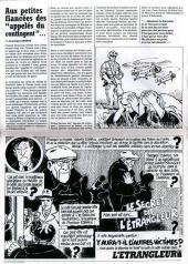 Verso de L'Étrangleur -1- Grève dans la police