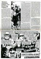 Verso de L'Étrangleur -3- Nouveau crime de l'étrangleur de minuit !