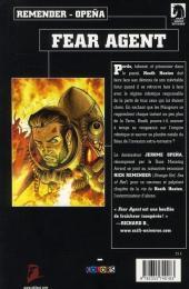 Verso de Fear Agent -2- Ma guerre