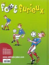 Verso de Les foot furieux -4- Tome 4