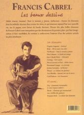Verso de Francis Cabrel - Les beaux dessins