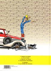 Verso de Garage Isidore -4- Cauchemar mécanique