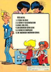 Verso de Génial Olivier -6- Un ingénieux ingénieur génial