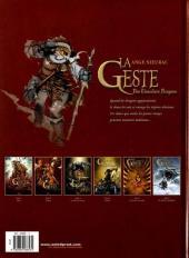 Verso de La geste des Chevaliers Dragons -6- Par-delà les montagnes
