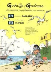 Verso de Godaille et Godasse -1- Madame Sans-Gêne