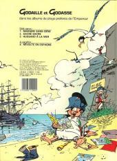 Verso de Godaille et Godasse -3- Hussard à la mer