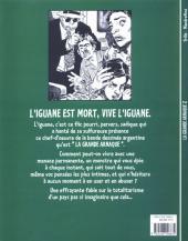 Verso de La grande arnaque -2- L'iguane