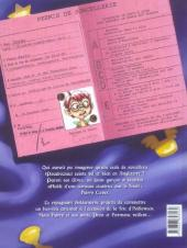 Verso de Harry Cover -1- L'ensorcelante parodie