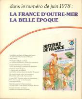 Verso de Histoire de France en bandes dessinées -20- La commune, La IIIème république
