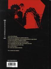 Verso de Je suis un Vampire -INT2- Intégrale - Seconde partie