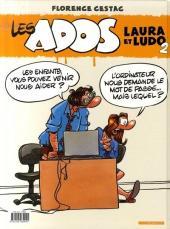 Verso de Les ados -2- Laura et Ludo 2
