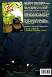 Verso de Lucha Libre -5- Diablo Loco a disparu!