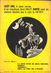 Verso de Lucky Luke -4- Sous le ciel de l'Ouest