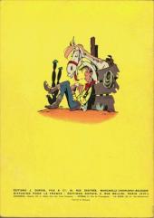 Verso de Lucky Luke -10- Alerte aux Pieds-Bleus